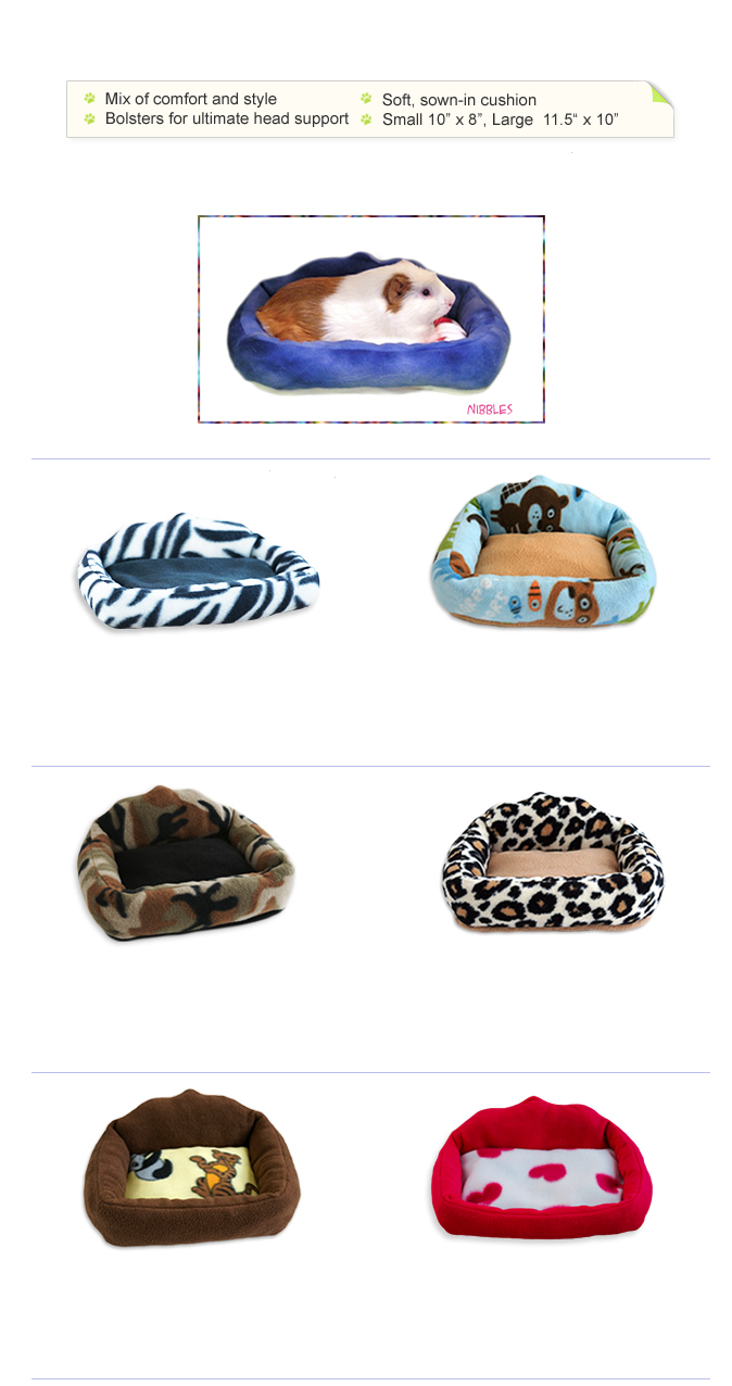 Sofa Bed for ferrets, chinchillas, rats, guinea pigs, degus, sugar gliders and other small pets