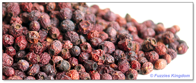 Hawthorn berries for rabbits, chinchillas, guinea pigs, degus