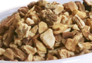 Organic dandelion root treat for rabbits, chinchillas, guinea pigs, degus